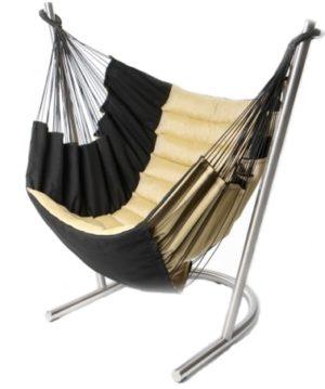 Hamac chaise Soay noir