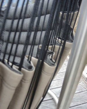 Détail du hamac chaise Soay